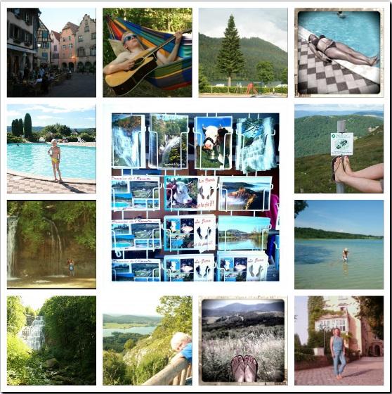 vakantie Elzas en Jura